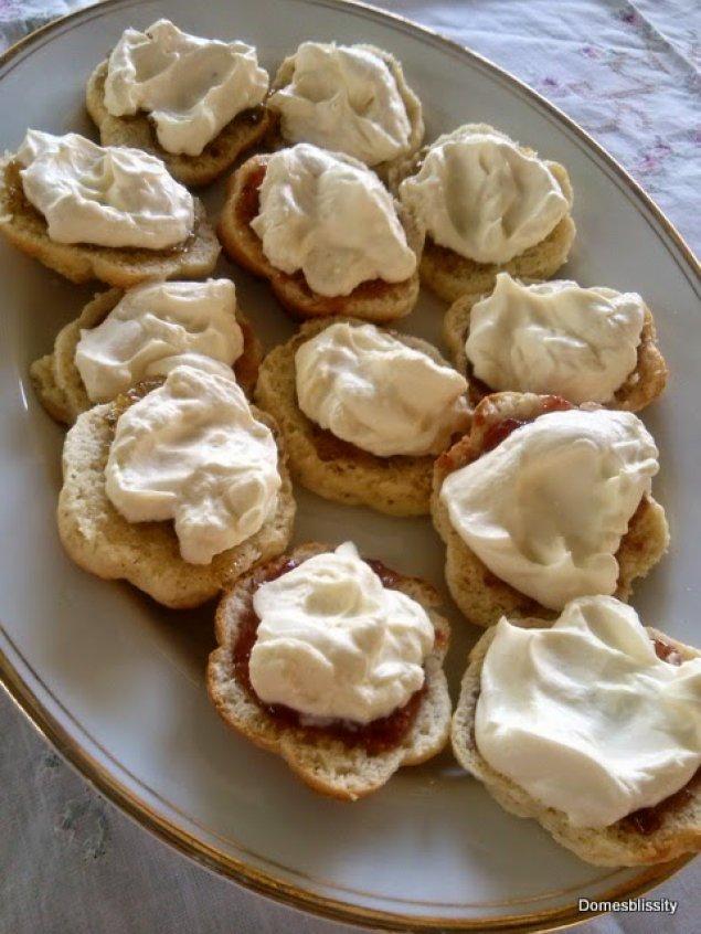 Lemon Myrtle Scones, Wild Larder Jams, Fresh Cream
