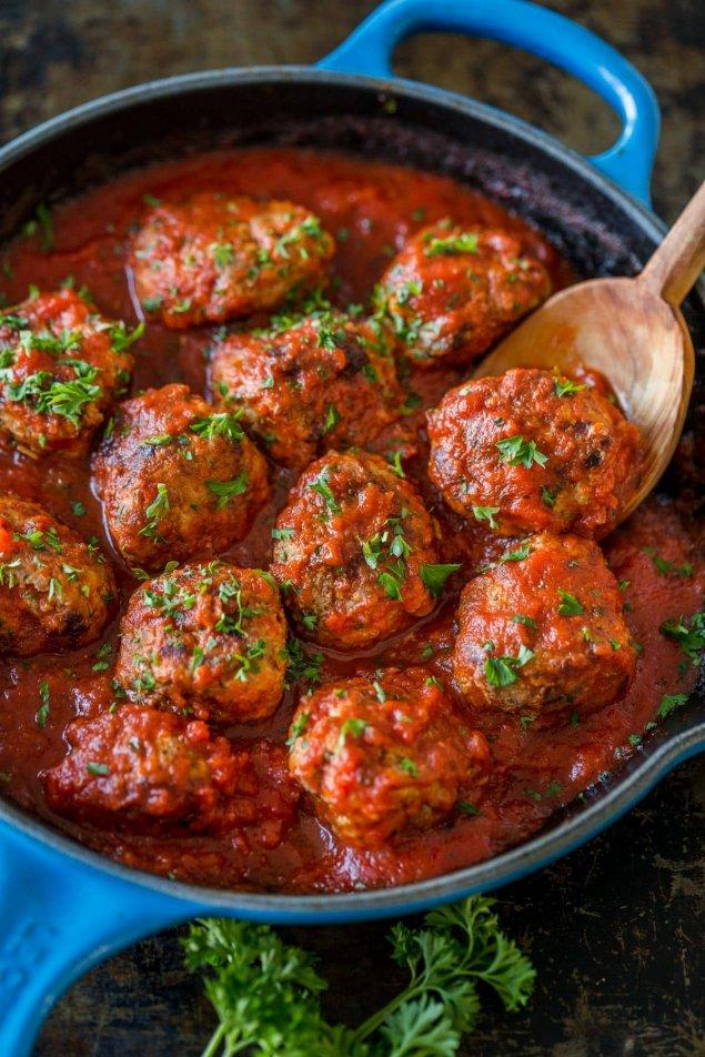 Kangaroo & Brown Rice Meatball Simmered in Tomato Broth